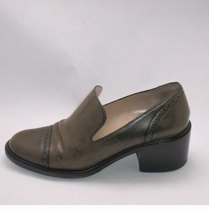 Marc Jacobs Heeled Leather Vibram Loafers